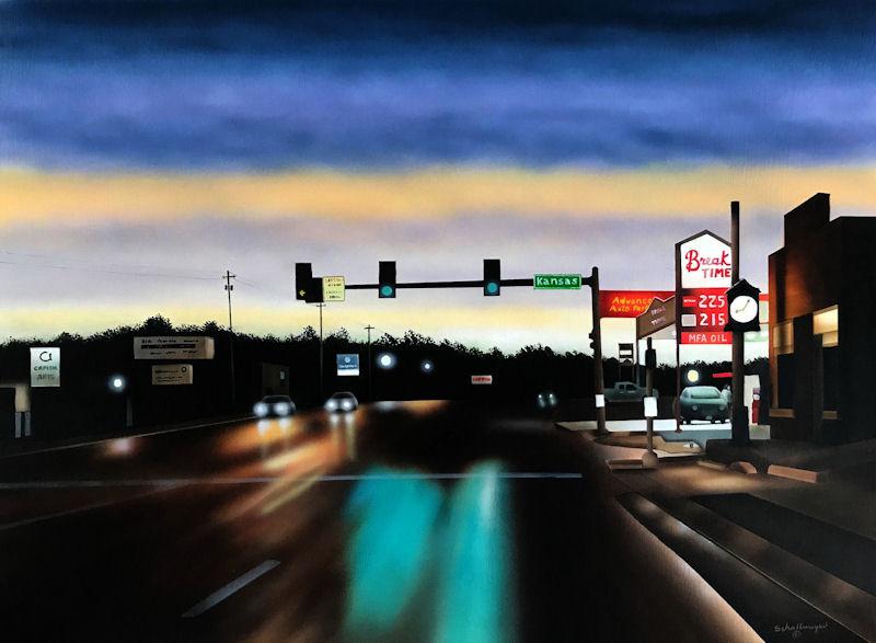 Boulevard (Late Evening)