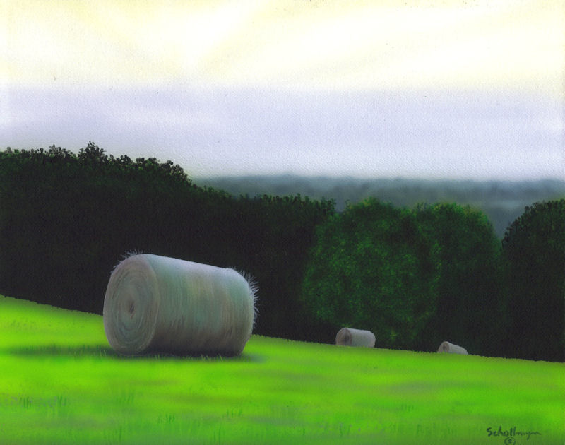 Hay Field Near Fiddler's Hollow