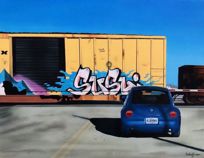 Railroad Crossing (Saturday Morning)