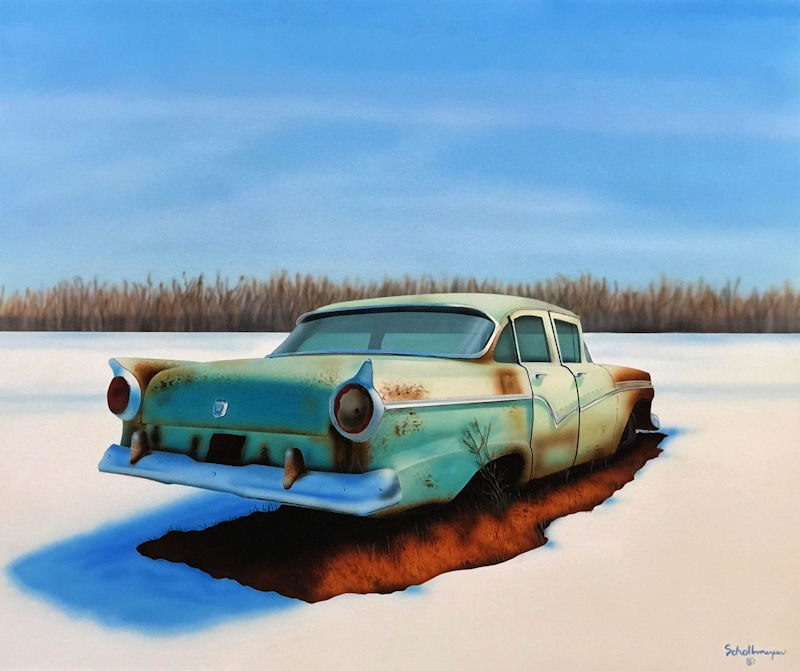 Frozen Ford Fairlane