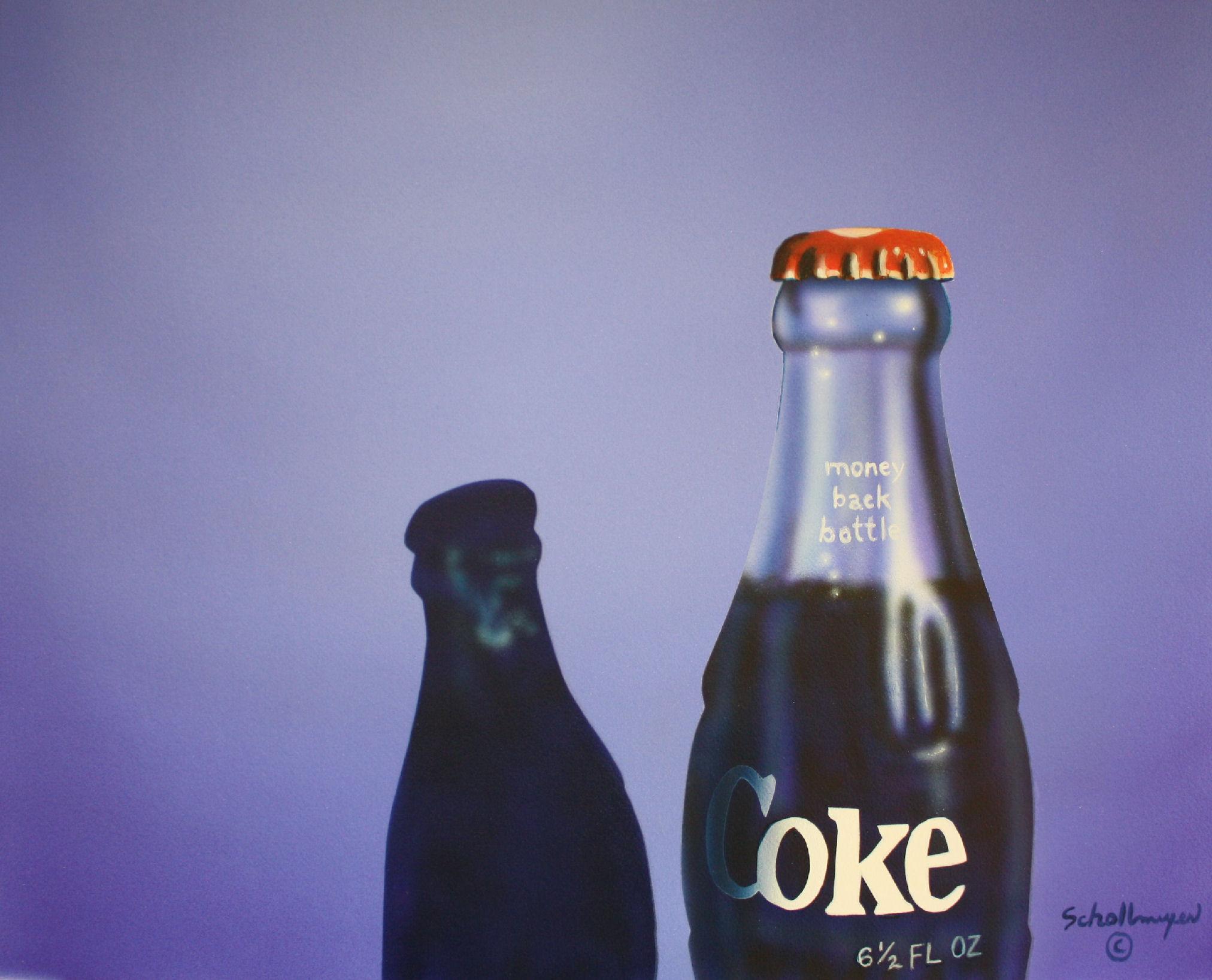 Coke Bottle and Shadow
