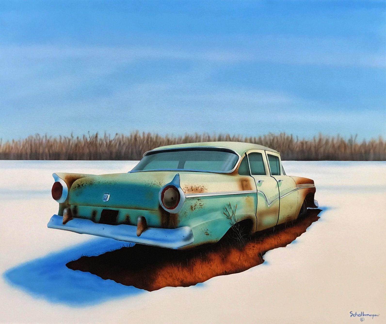 Frozen Ford Fairlane