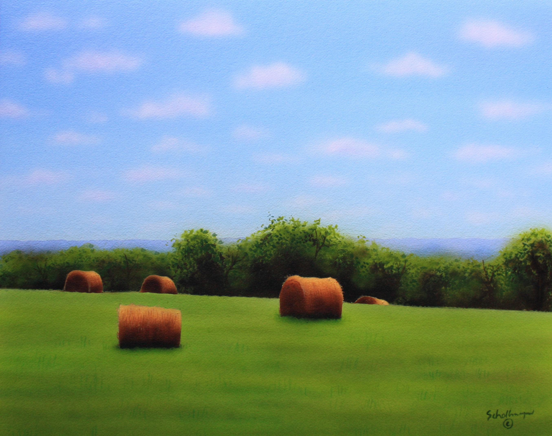 June Hay Field (Looking West)