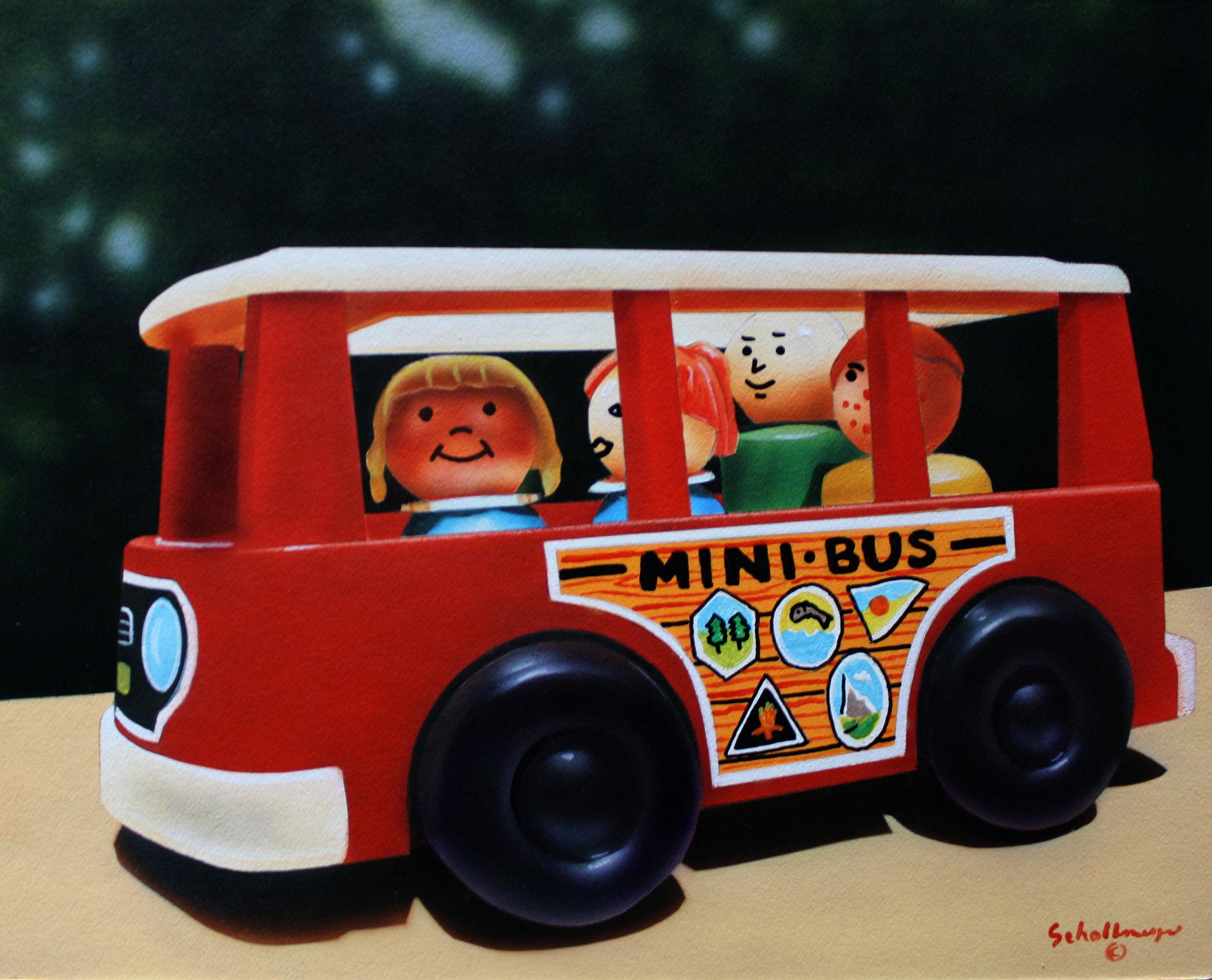 Little People in Mini-bus