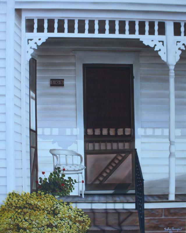 Mid Morning Porch