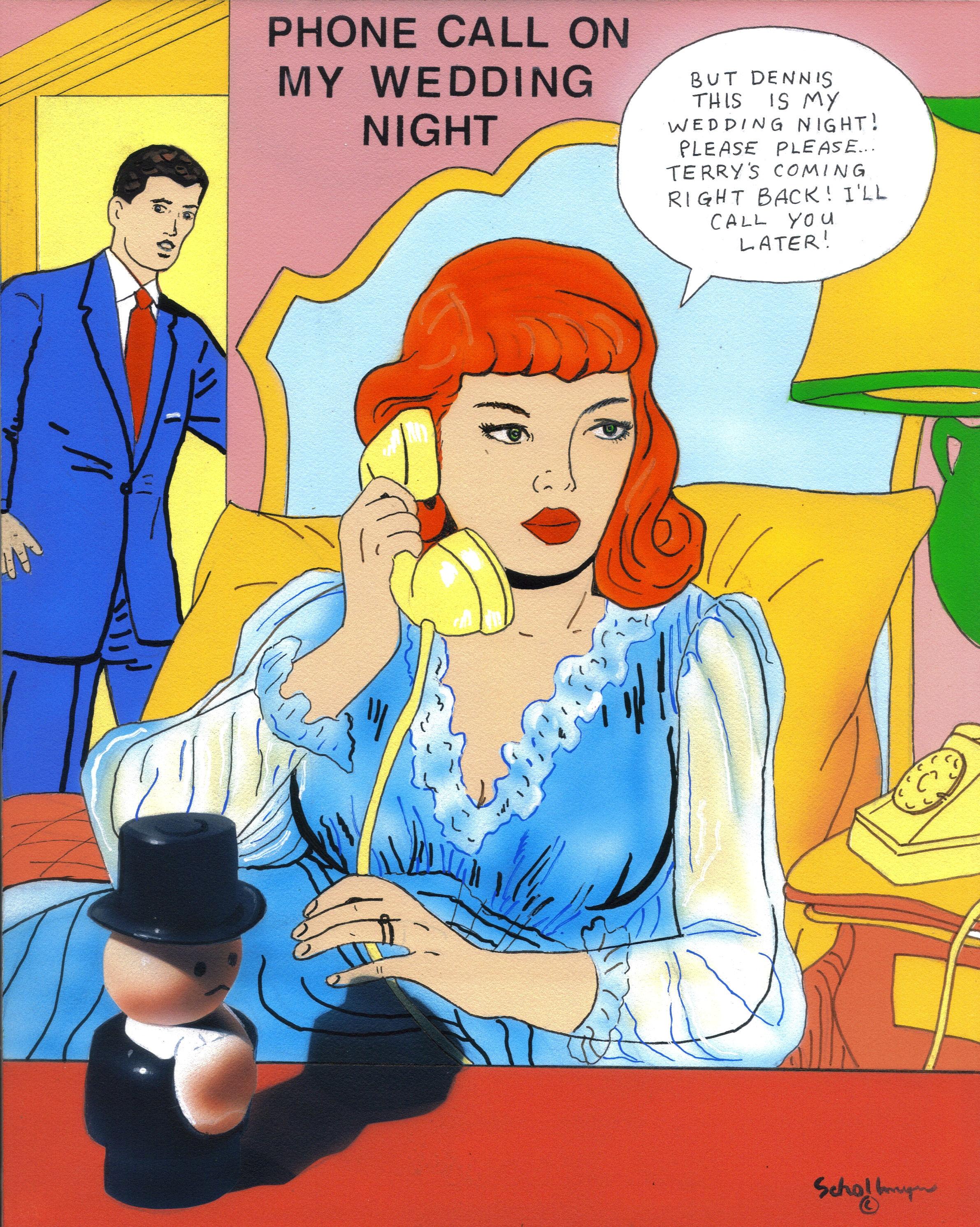 Phone Call On My Wedding Night