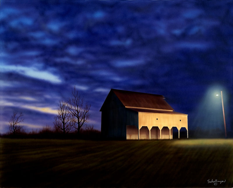 Rhoades Farm Late Evening