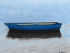 Waiting Blue Boat
