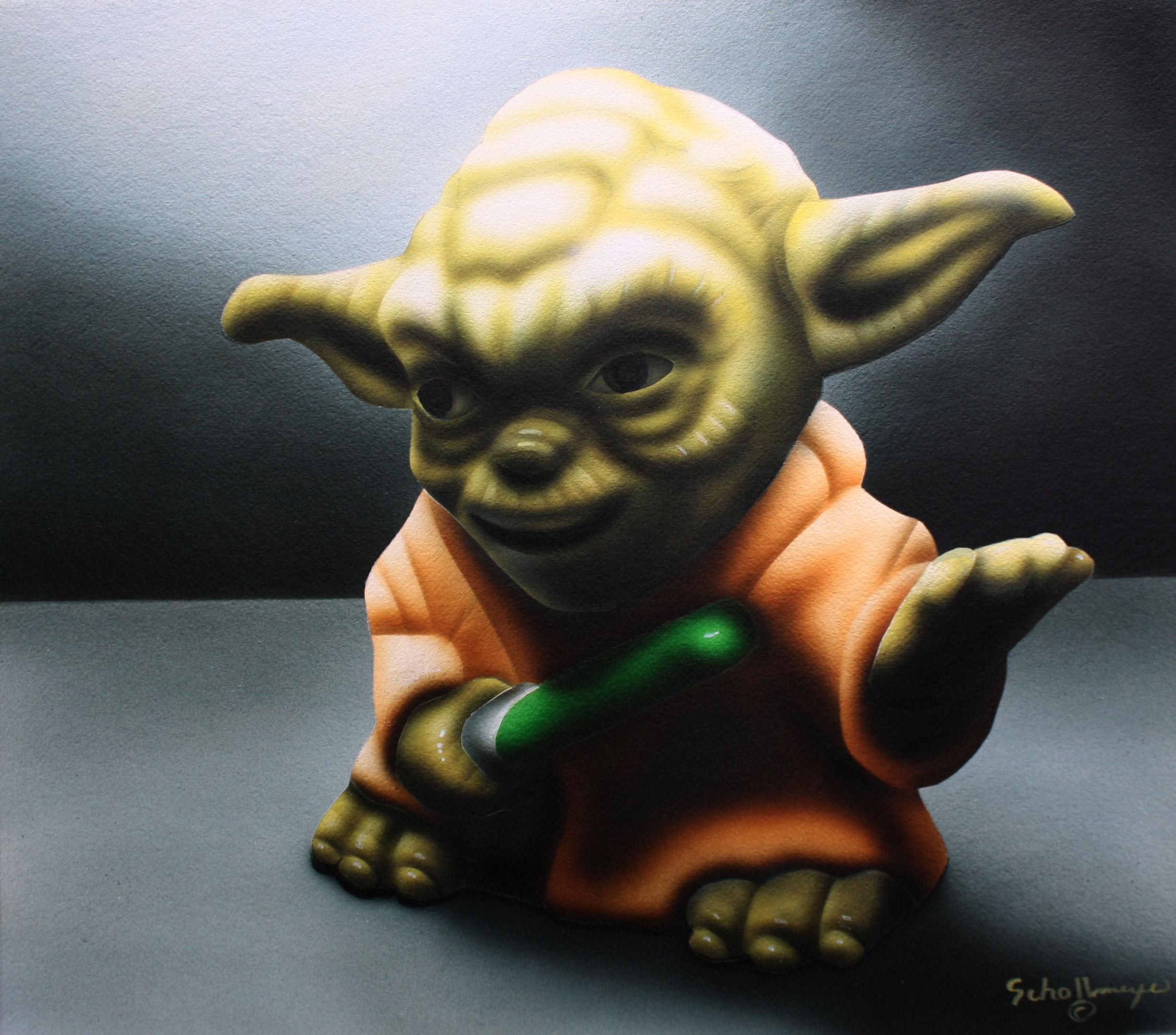 Yoda in Shadows