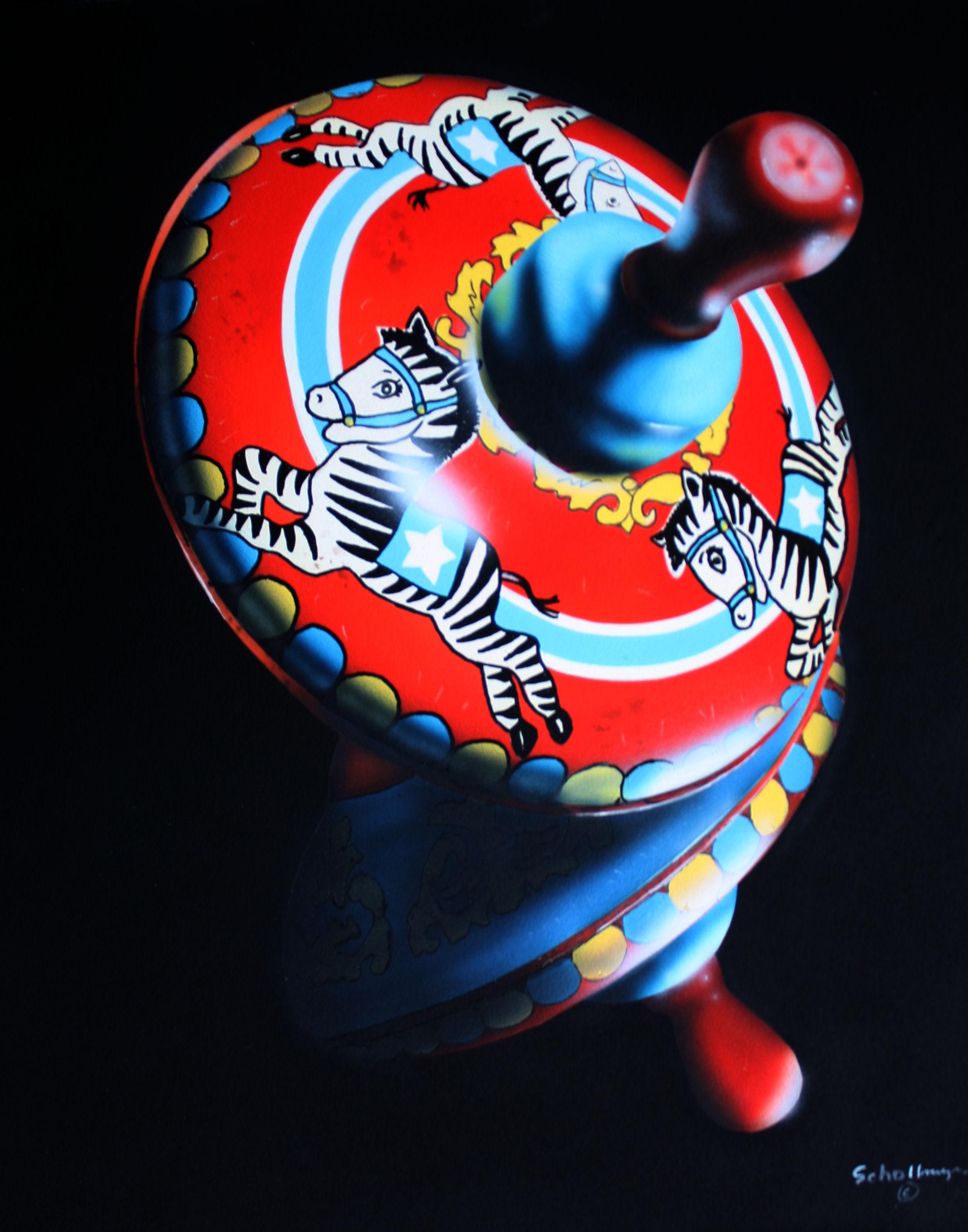 Zebra Spinner