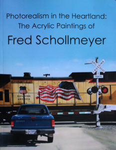 "Fred Schollmeyer's book ""Photorealism in the Heartland"" published January 2020."